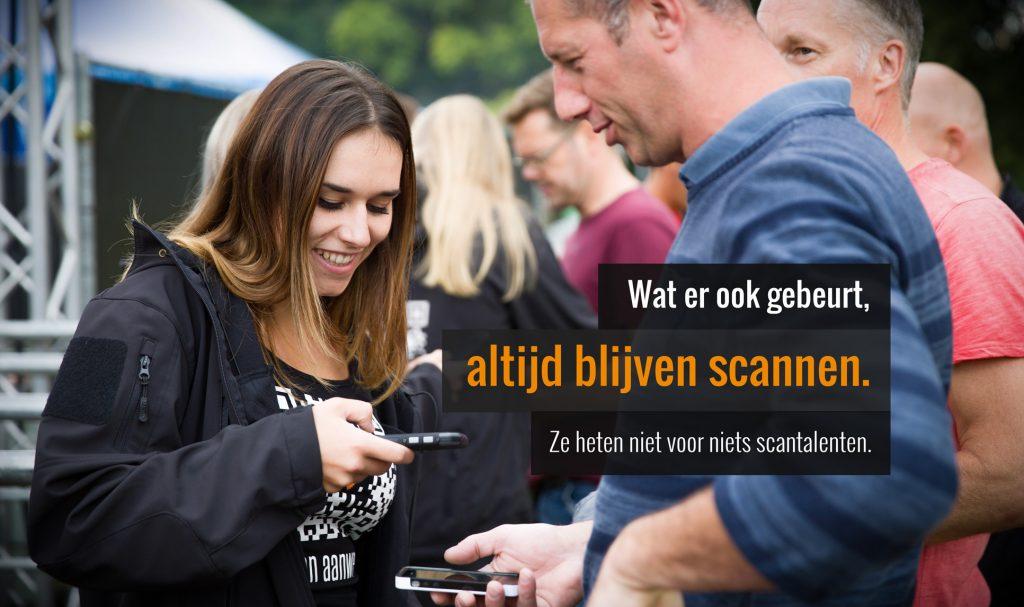 Scannen - Ticketservice