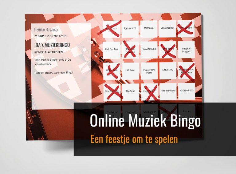 Muziek Bingo Online